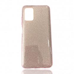 Capa Silicone Gel Brilhante Samsung Galaxy A03s Rosa