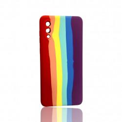 Capa Silicone Tpu Samsung Galaxy A02 Colorido Aquarela