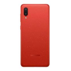 """Smartphone Samsung Galaxy A02 A022 3gb / 32gb 6.5"""" Dual Sim Red"""
