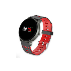 Smartwatch Mtk Rt823 Red 100mah Battery Capacity, Sport Mode, Sleep Monitoring, Stopwatch, Connected Gps