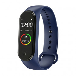 M4 Smart Fitness band Exercise bracelet Blue
