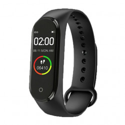 M4 Smart Fitness band Exercise bracelet Black