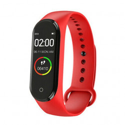 M4 Smart Fitness band Exercise bracelet Red