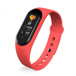 M5 Smart Fitness band Exercise bracelet Red