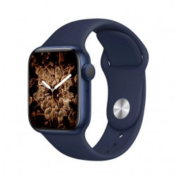 Smartwatch Oem T500 Plus Series 6 Blue Space Aluminum Case 44mm For Apple And Android