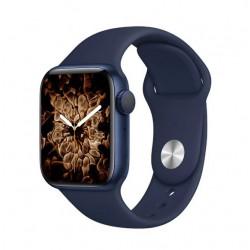 Smartwatch Oem T500 Plus Series 6 Azul Space Aluminum Case 44mm Para Apple E Android