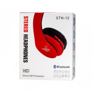 Auricular Bluetooth Universal Stn-12 Vermelho