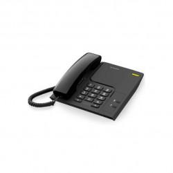TELEFONE FIXO COM FIO ALCATEL T26 BLACK