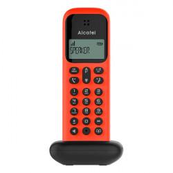 TELEFONE FIXO WIRELESS ALCATEL D285 RED
