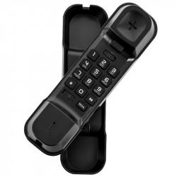 TELEFONE FIXO COM FIO ALCATEL T06 BLACK